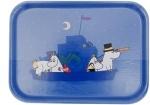 Opto tray 27*20 Moomin boat in night