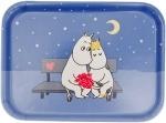 Opto tray 27*20 Moomin  Evening love