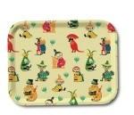 OPTO Tray 27x20 Moomin 50's Pattern