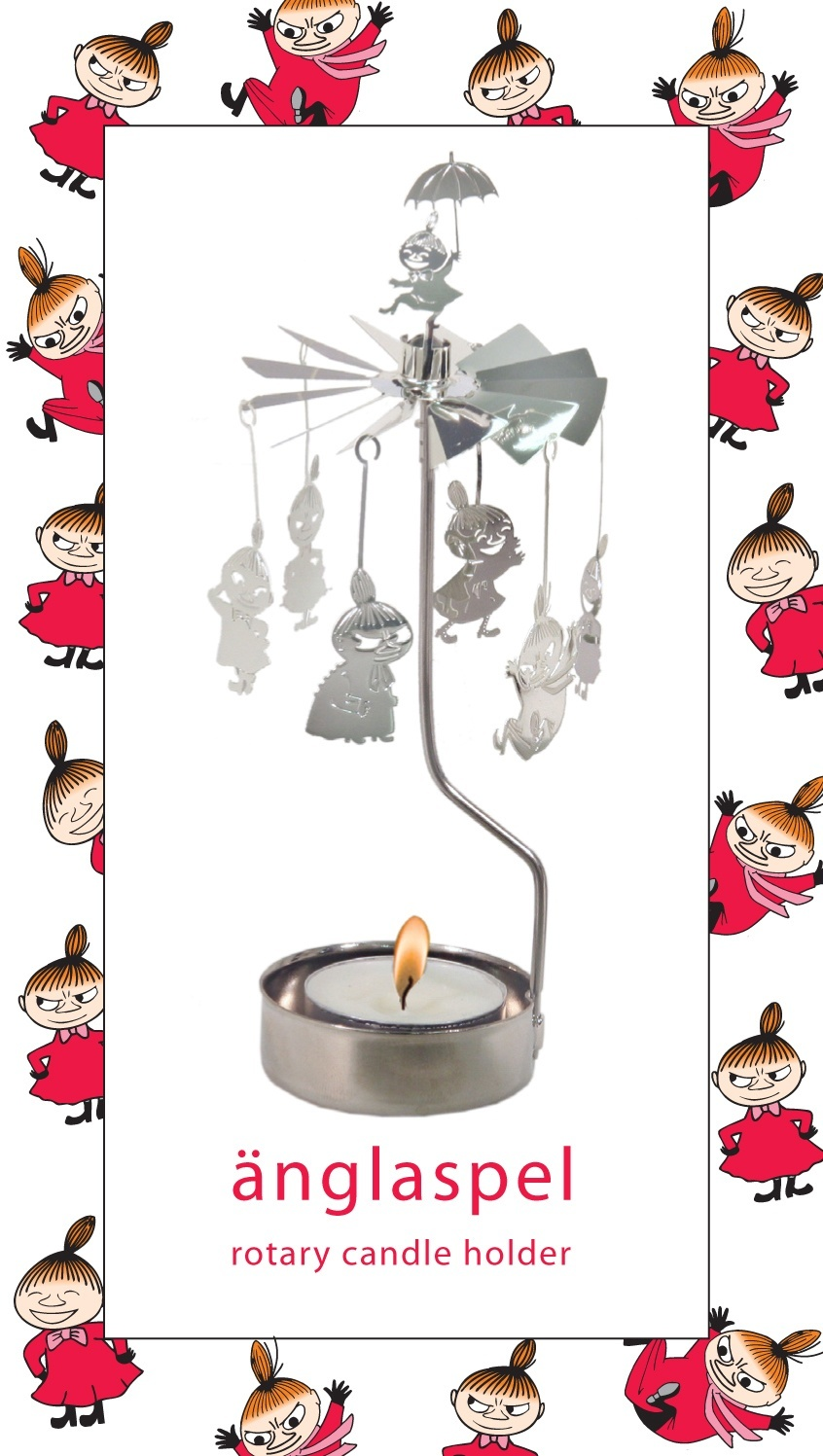Pluto Rotary Candle Holder Little My