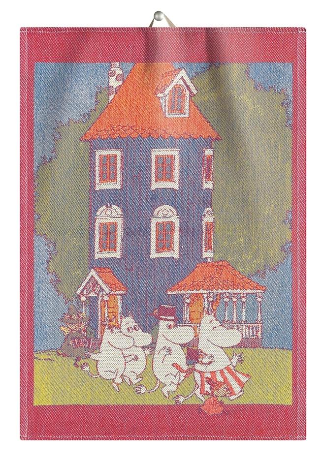 Ekelund Towel Moomin House 35x50cm