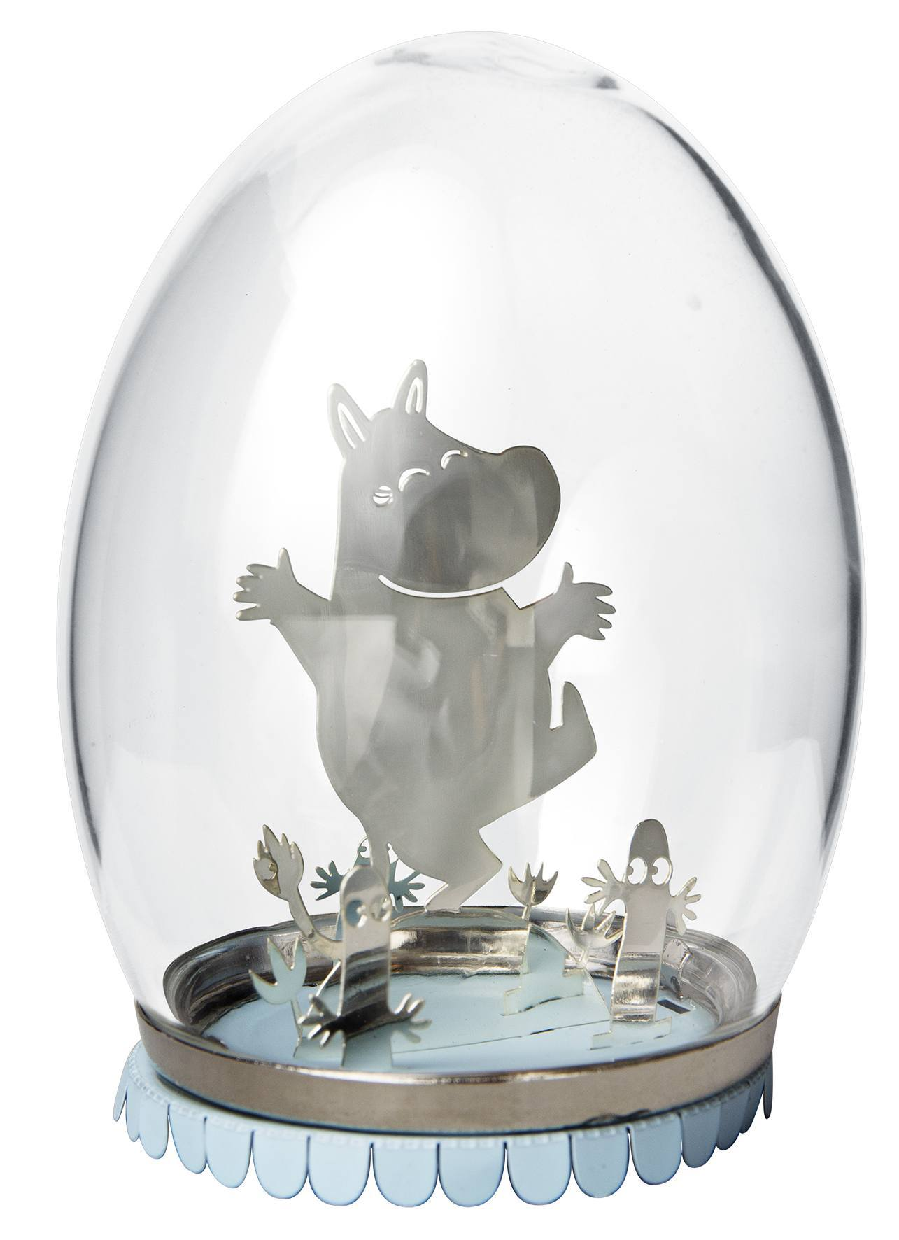 Pluto Glass Egg Moomin
