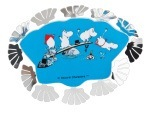 Pluto Fridge Magnet Moomin Bath