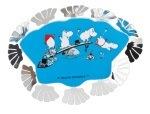 Pluto Fridge Magnet Moomin Bath
