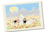 OPTO Poster 70x50 Moomin On the meadow