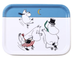 OPTO Tray 27x20 Moomin On Ice