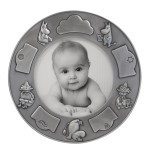 Nordahl Round photo frame - Pewter Finished - Snufkin
