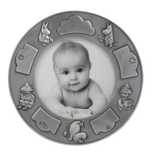 Nordahl Round photo frame - Pewter Finished - Snufkin