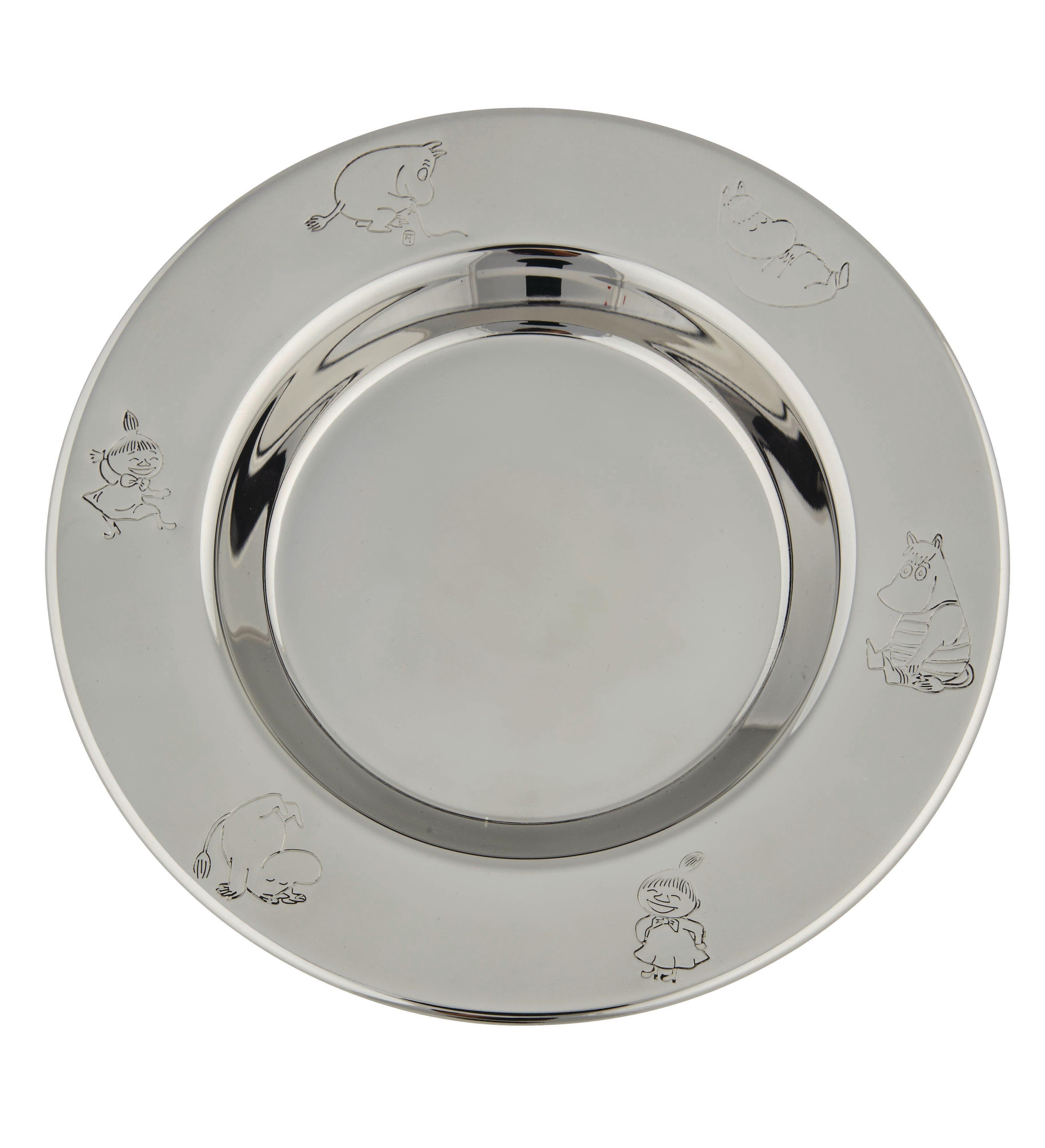 Nordahl Plate, Moomin - Stainless steel
