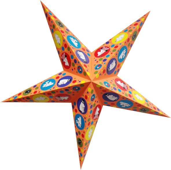 Karto Moomin Starlightz, size S, orange