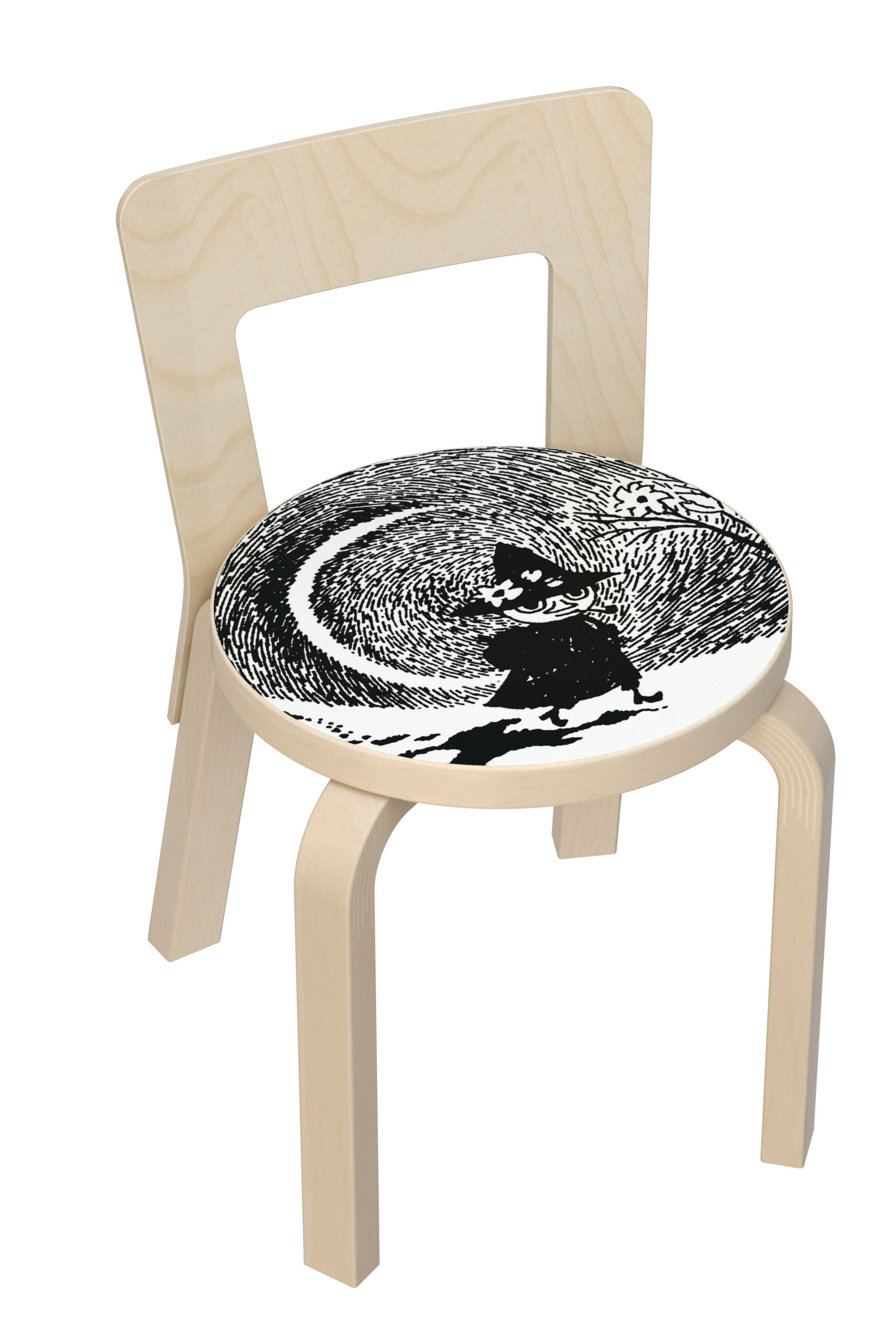 Artek Children's Chair N65 Moomin
