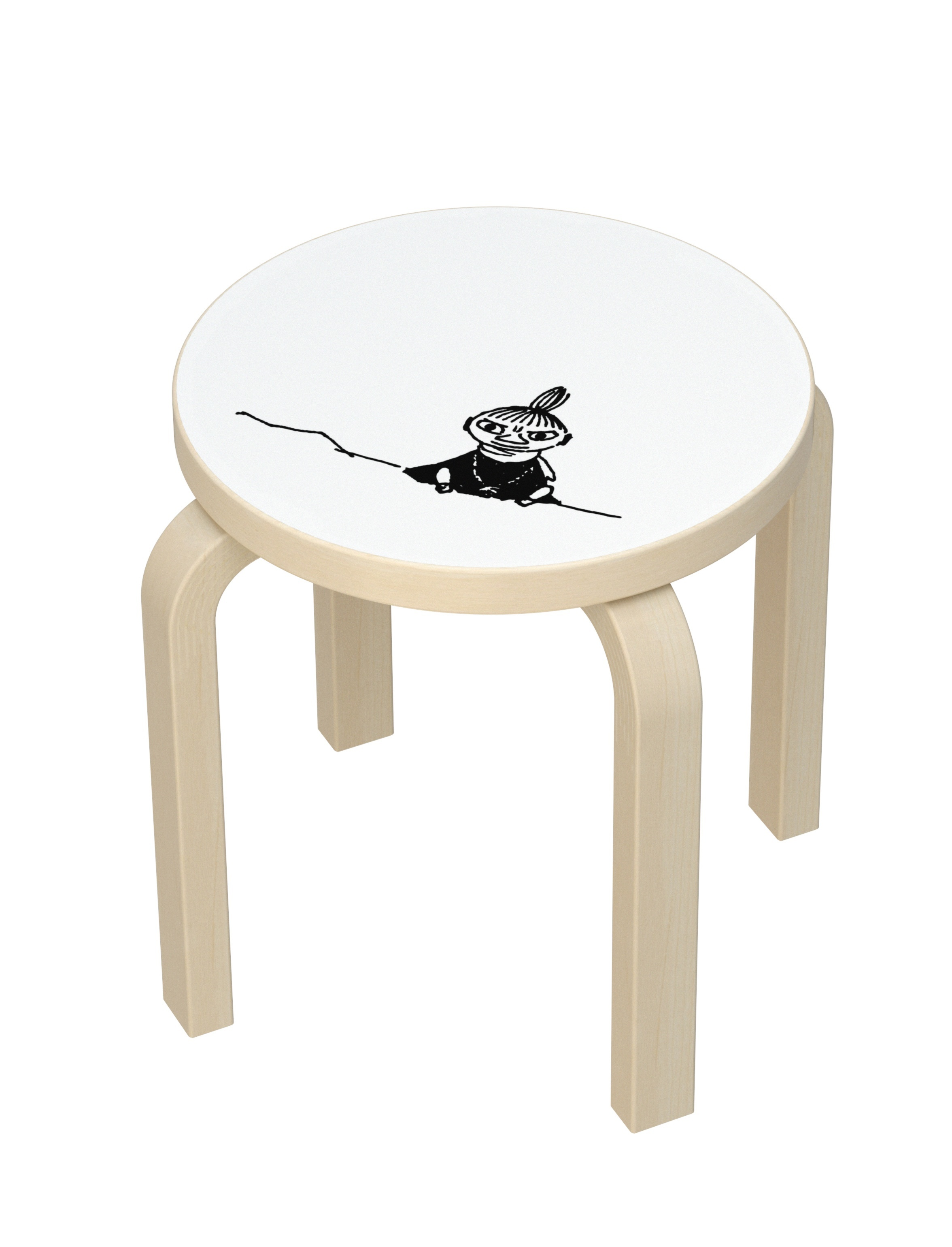 Artek Children's Stool NE60 Moomin