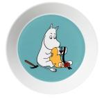 by Arabia Moomin plate Moomintroll