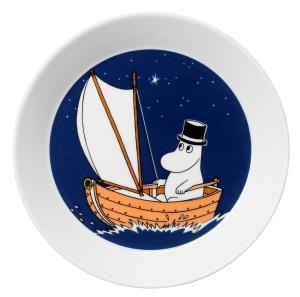 by Arabia Moomin plate Moominpappa