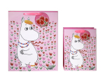 Paletti Snorkmaiden gift bag pink