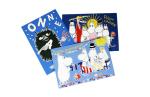 Paletti Moomin postcard set 4