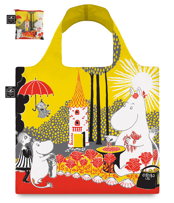 "Showroom Finland Moomin Multicolour Bag ""Berries and Roses"""