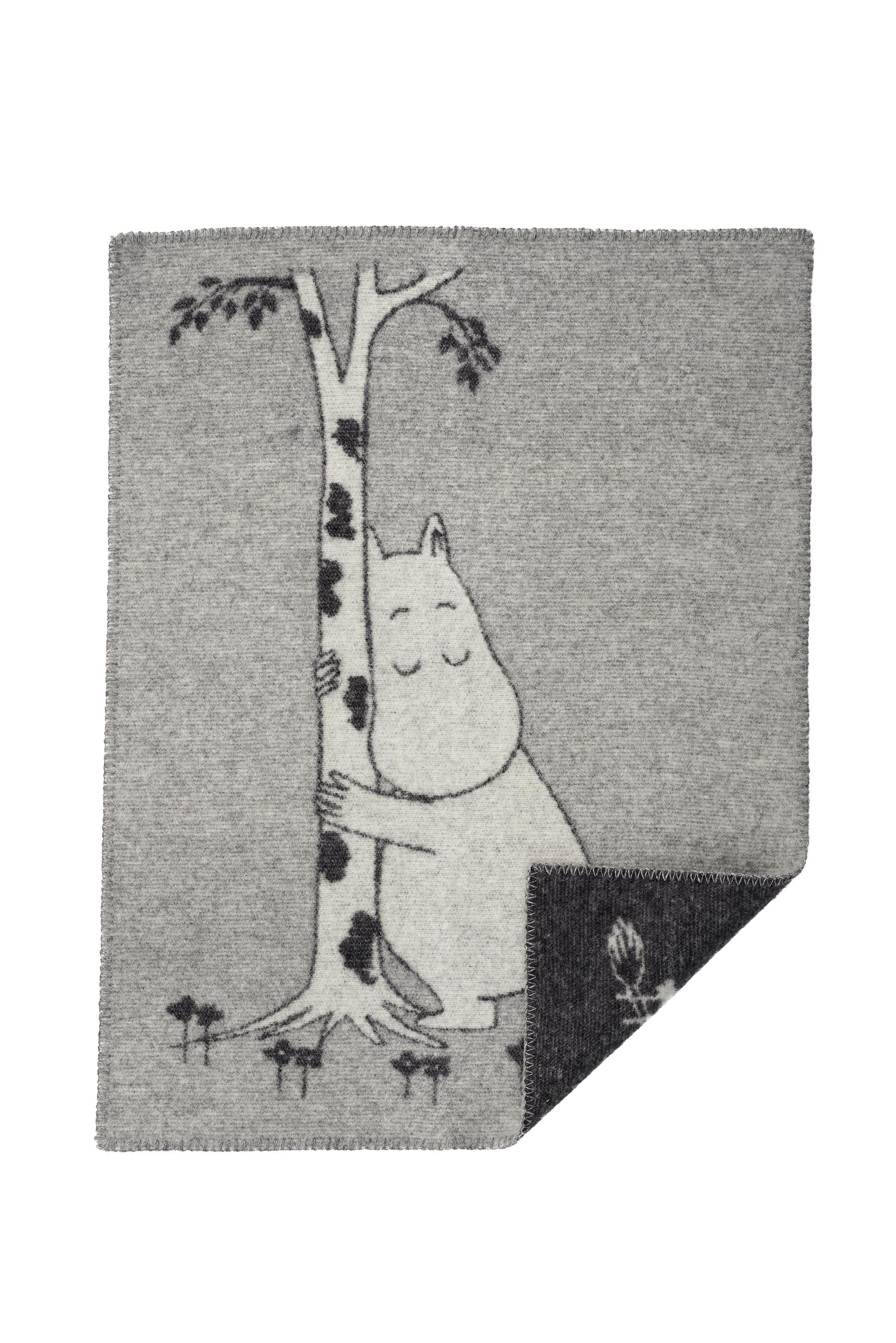 Klippan Yllefabrik Tree Hug Woven blanket 65x90 cm