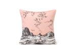 Aurora Decorari 253CH Moomins In Sea Rosa Cushion Cover 32x33cm