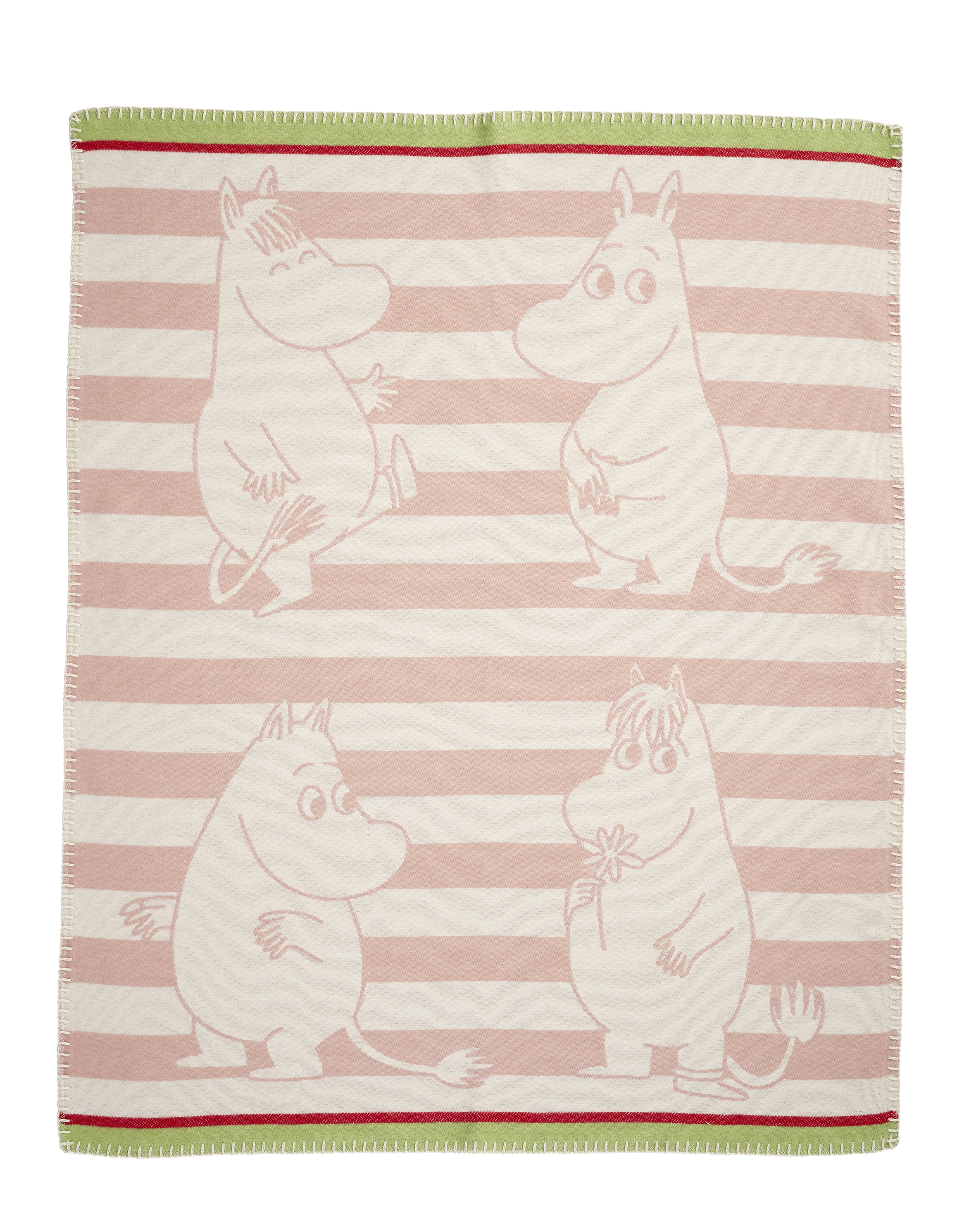 Klippan Yllefabrik Moomin Cotton Blanket 70x90 cm