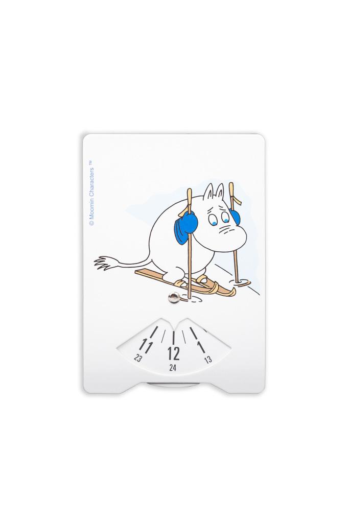 Aurora Decorari Time Disc 324TDM Moomintroll Skiing