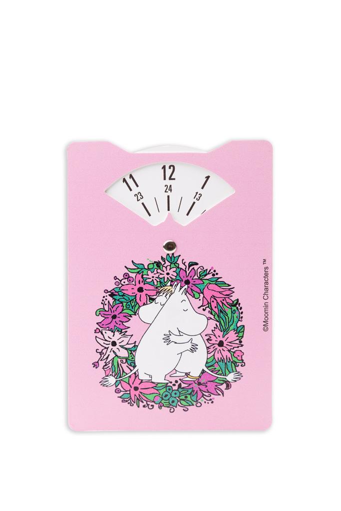 Aurora Decorari Time Disc 326TDM Moomin Love Pink