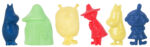 Martinex Moomin Sand Molds 6-pack