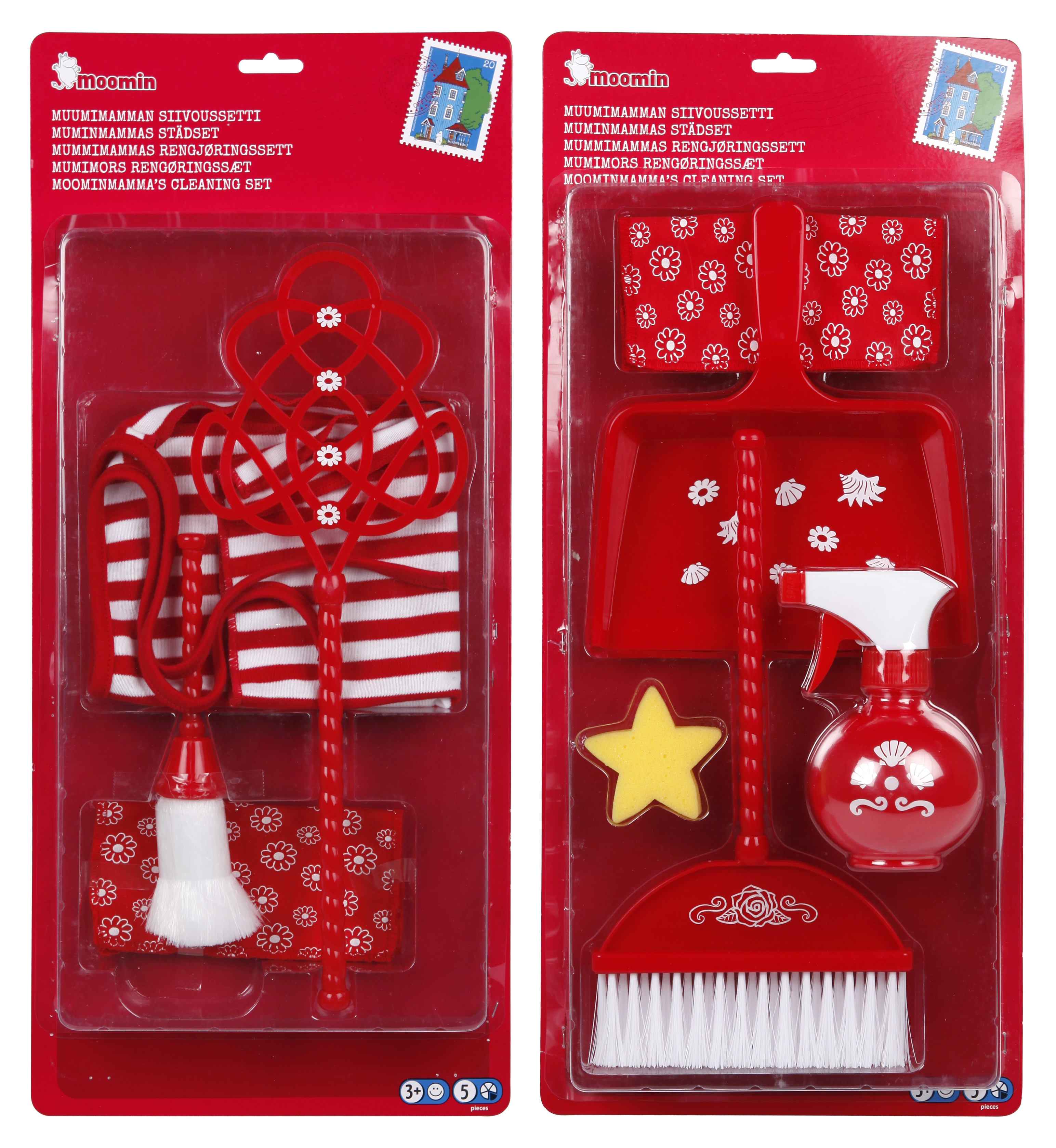 Martinex Moomin Cleaning Set