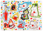 Martinex Moomin Characters Peg Puzzle