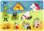 Martinex Moomin Camping Peg Puzzle