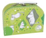 Martinex Moomin Papercase Green Whirls Small