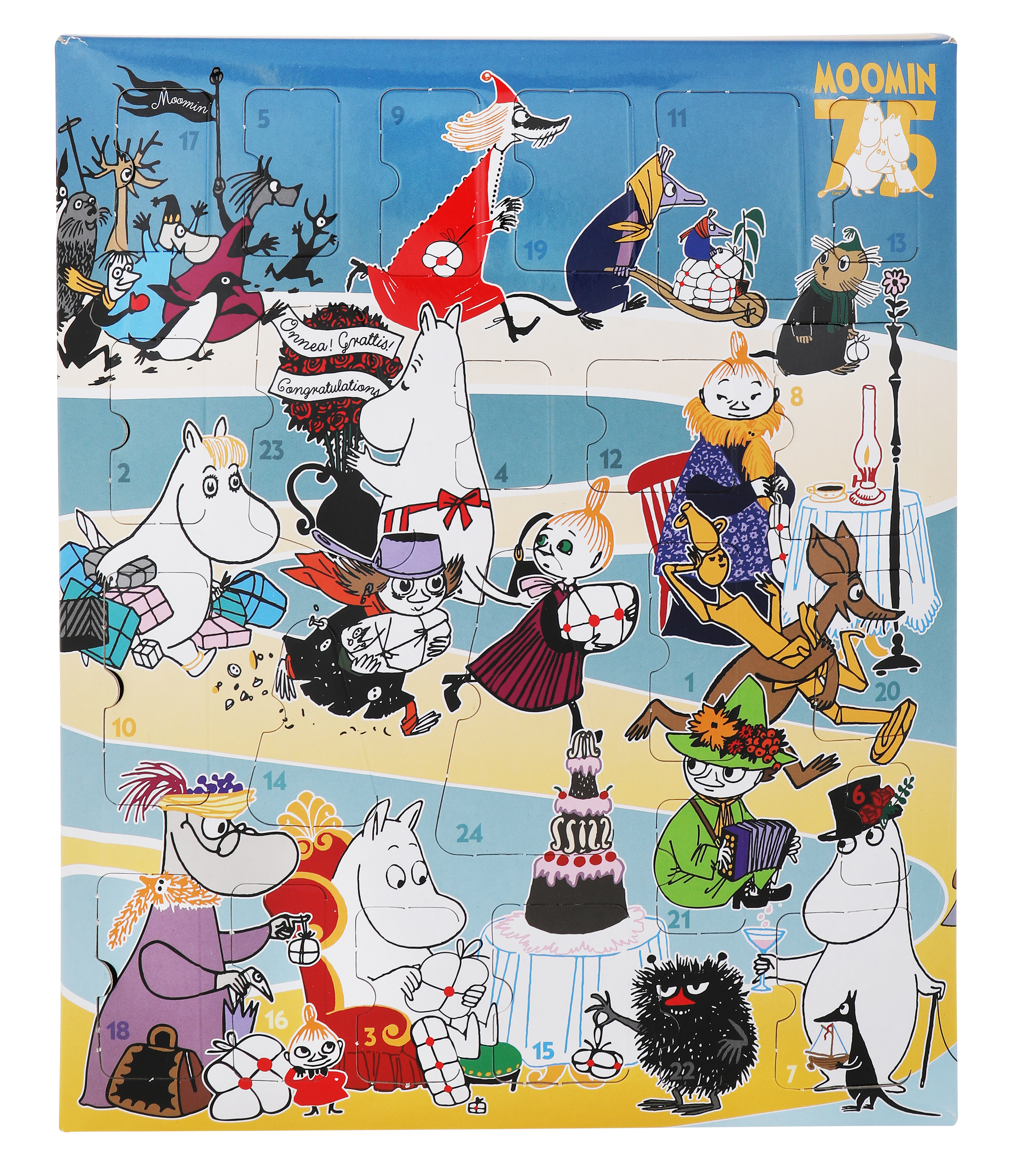Martinex Moomin Advent Calendar 2020