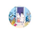 OPTO Pot Coaster Moomin Doorstep
