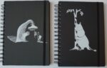 Anglo-Nordic Moomin wire notebook a5, hard cover, black