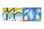 Martinex Moomin A4 puzzle set of 2