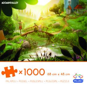 Martinex Moominvalley Jigzaw Puzzle 1000 Pieces