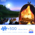 Martinex Moominvalley Jigzaw Puzzle 500 Pieces