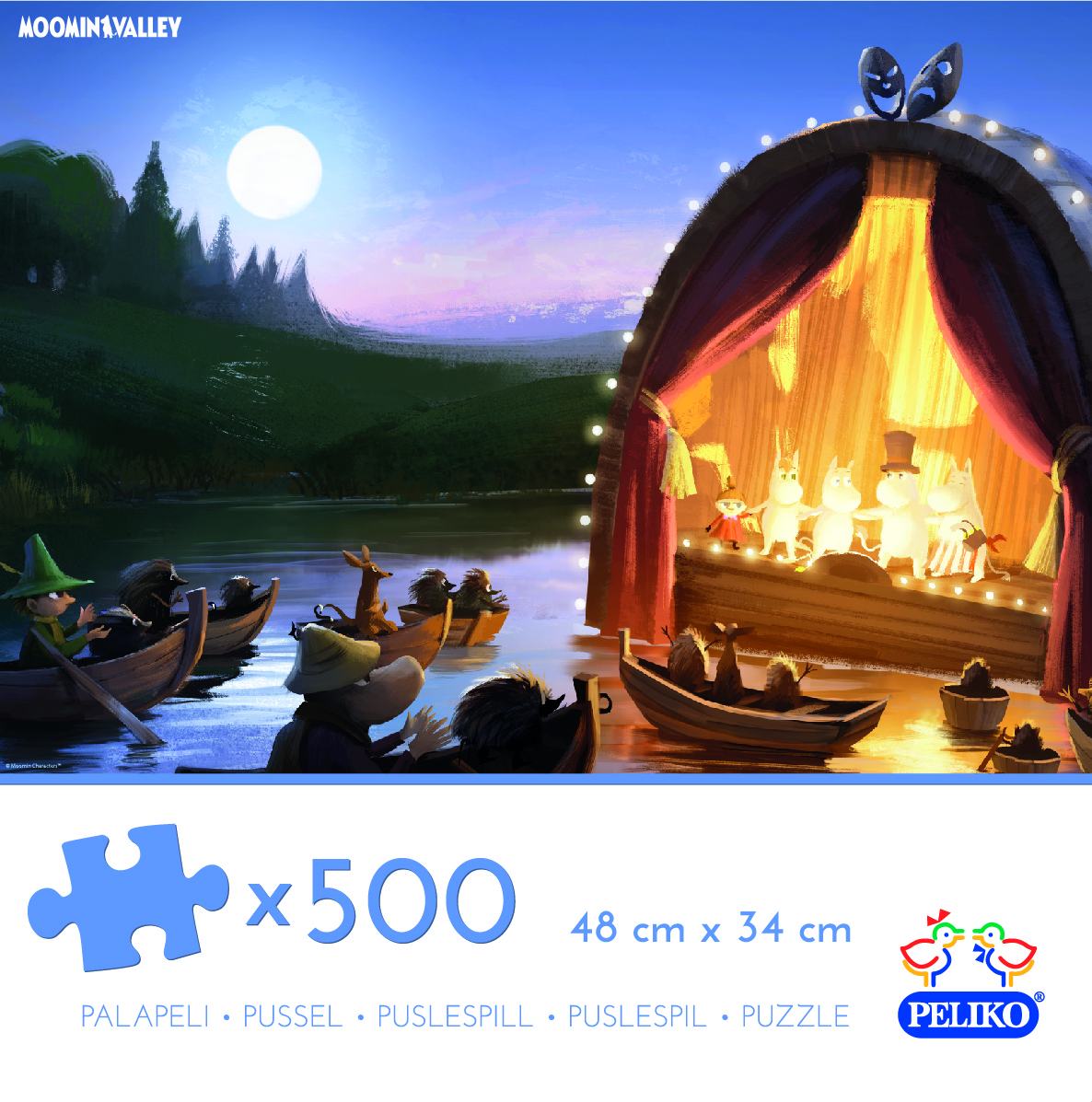 Martinex Moominvalley Jigzaw Puzzle 500 Pieces