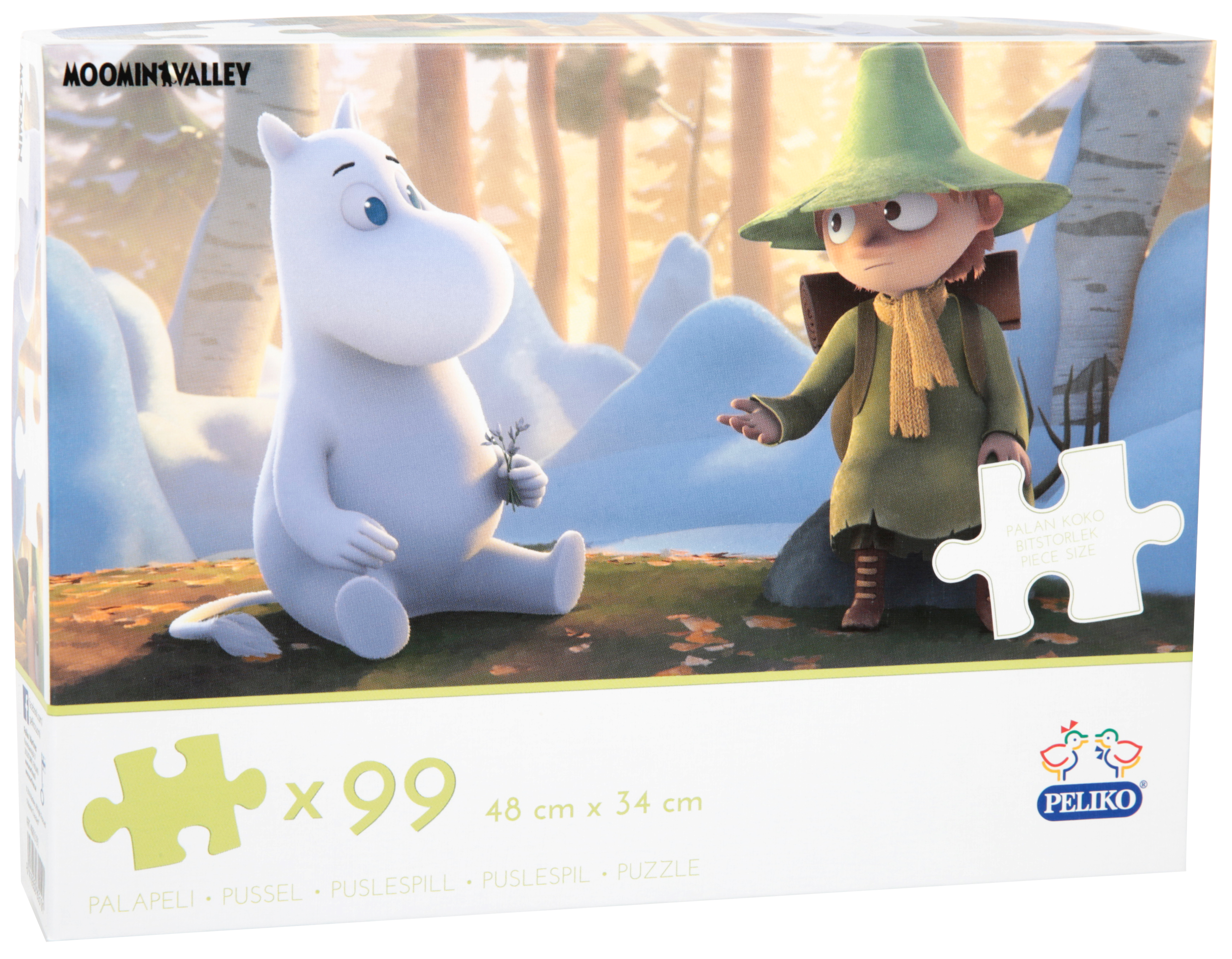 Martinex Moominvalley Jigzaw Puzzle 99 Pieces