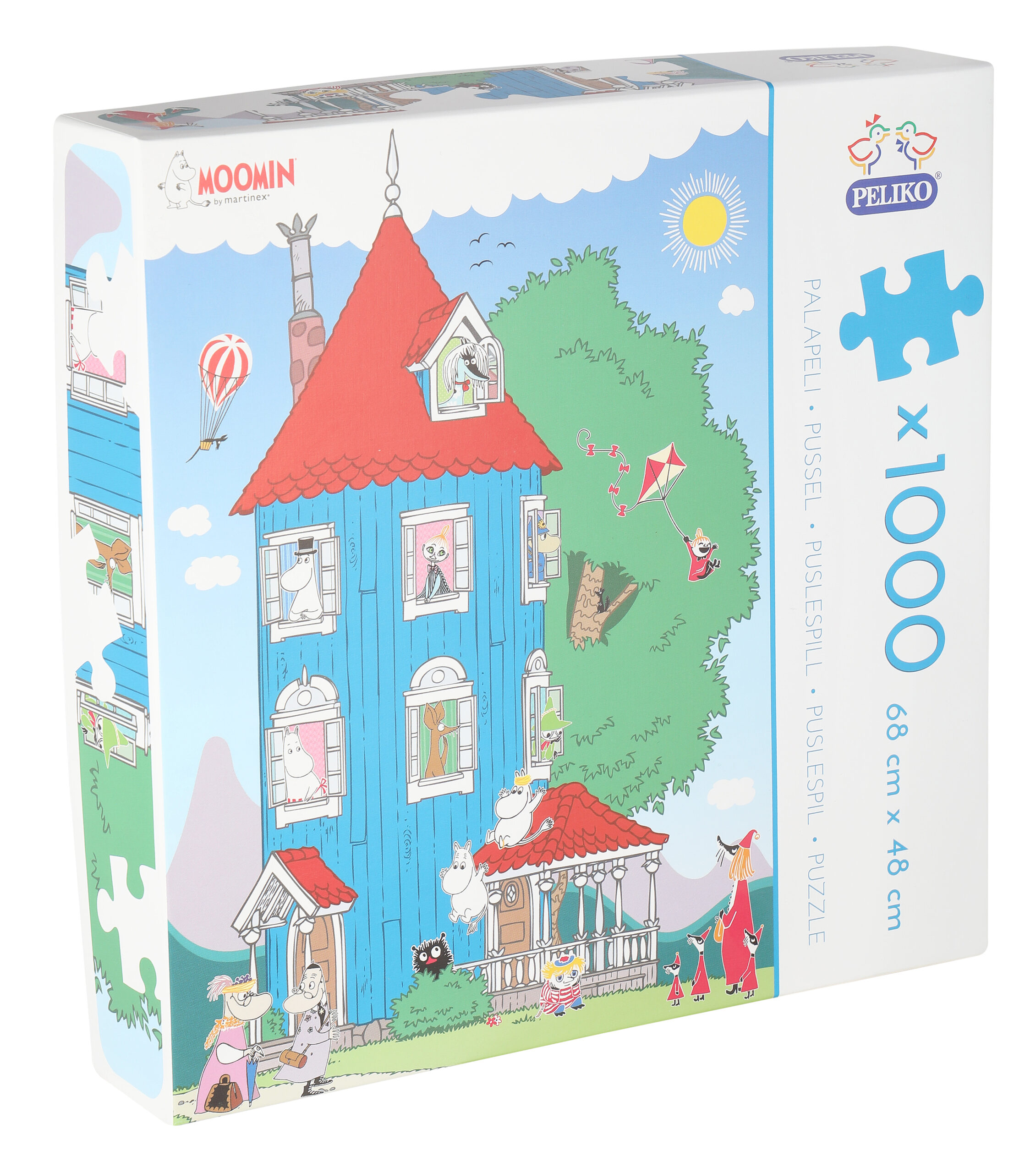 Martinex Moomin Jigsaw Puzzle 1000 Pieces Moominhouse