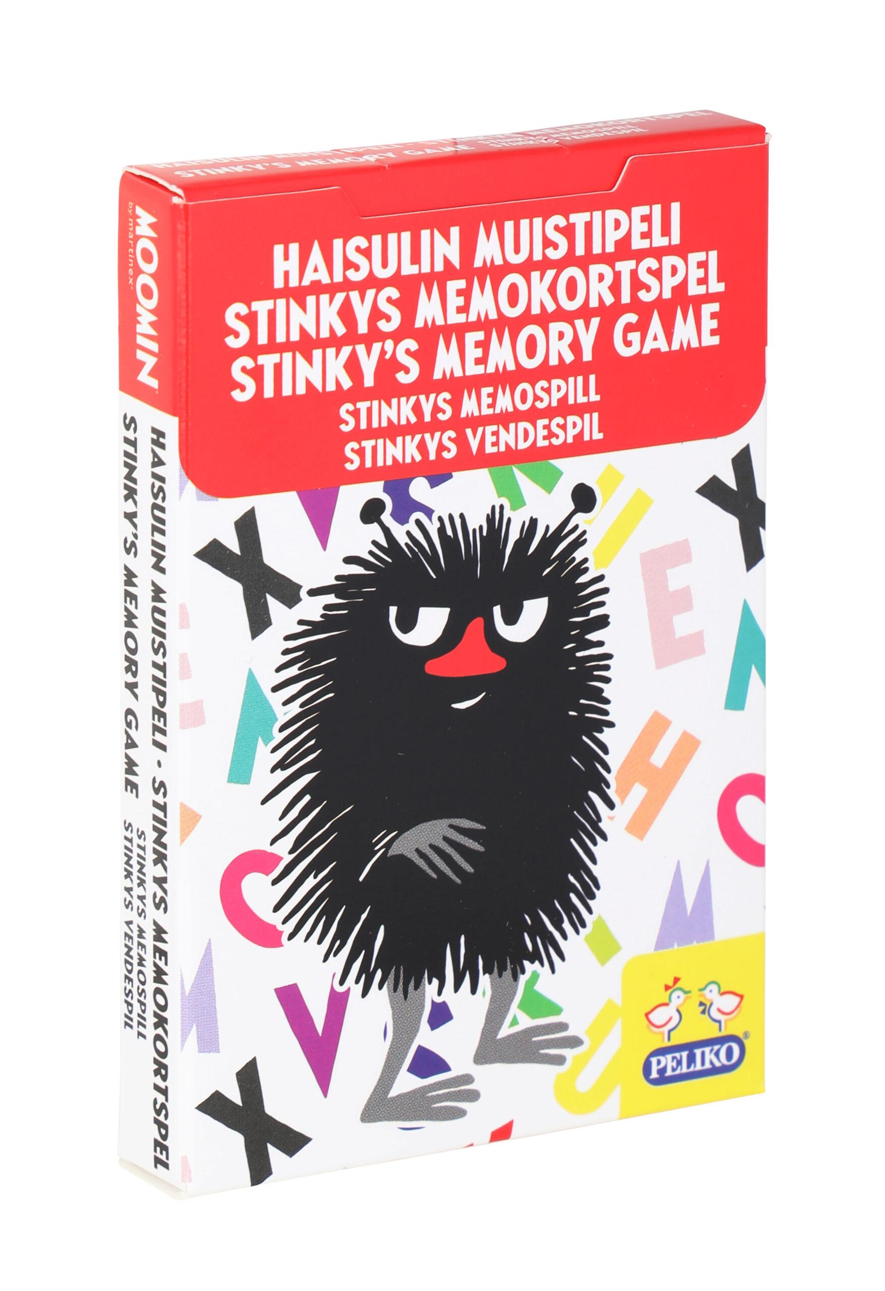 Martinex Moomin Stinky's Memory Game