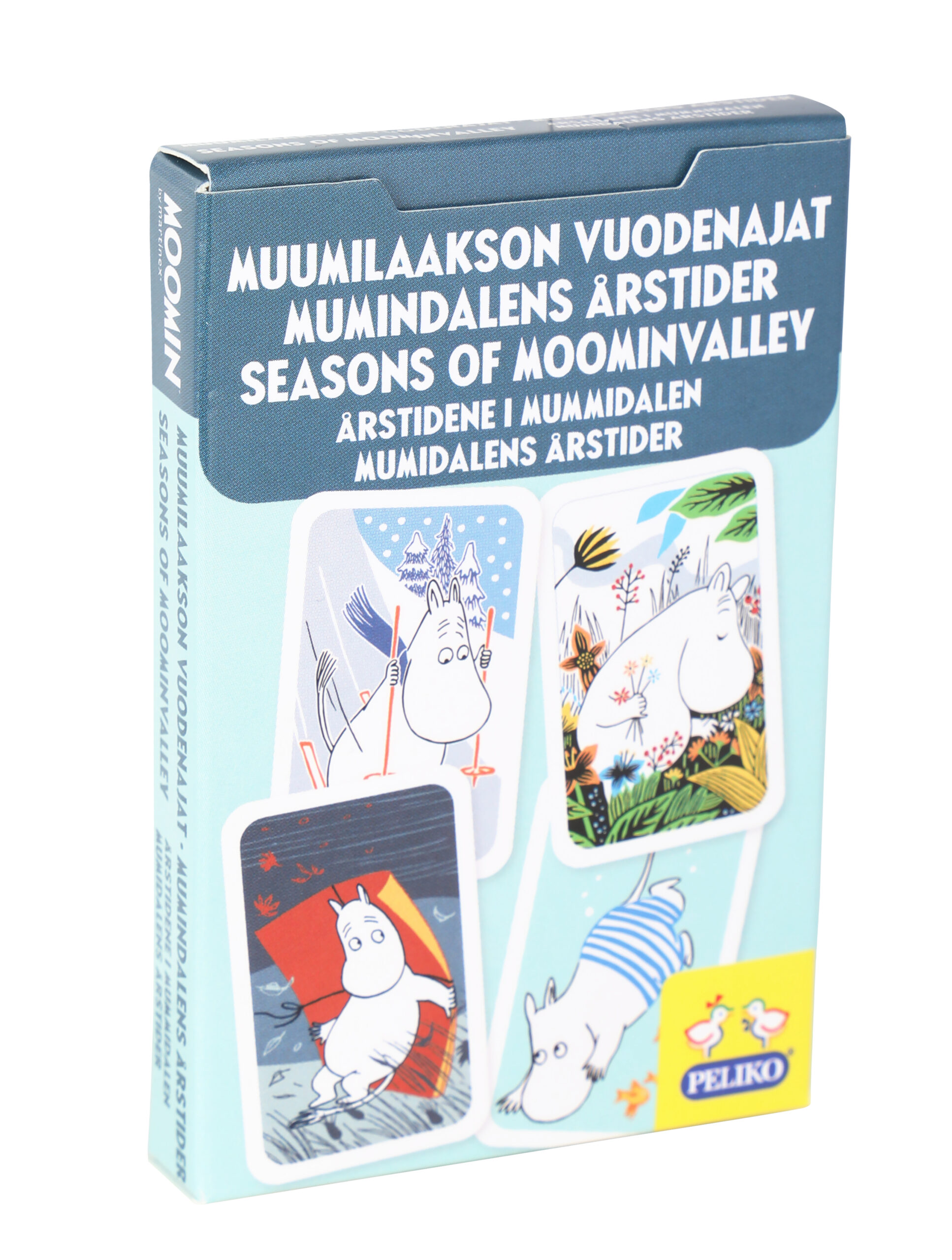 Martinex Moomin Seasons Of Moominvalley Card Game