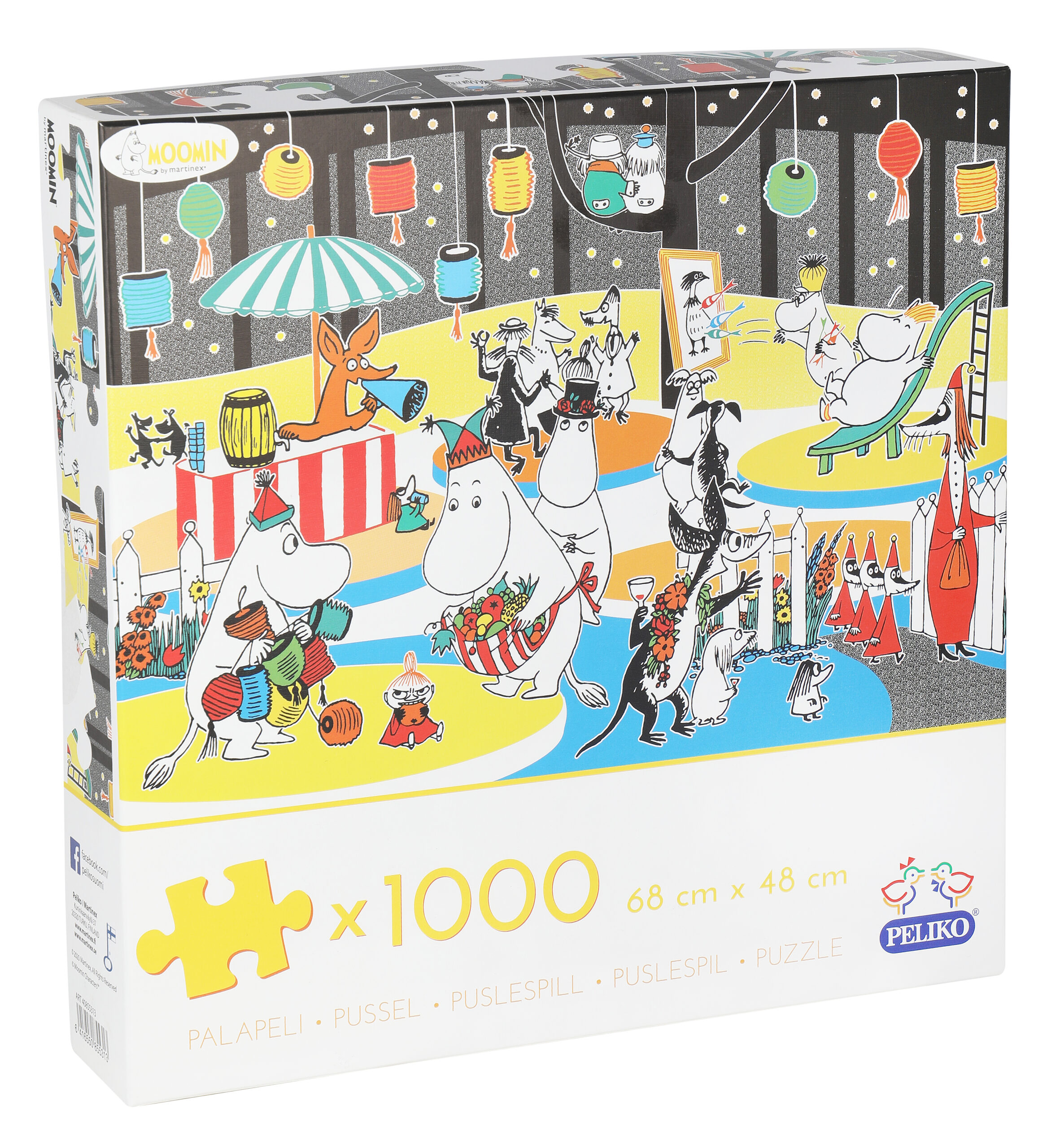 Martinex Moomin Jigsaw Puzzle 1000 Pieces Autumn Fest