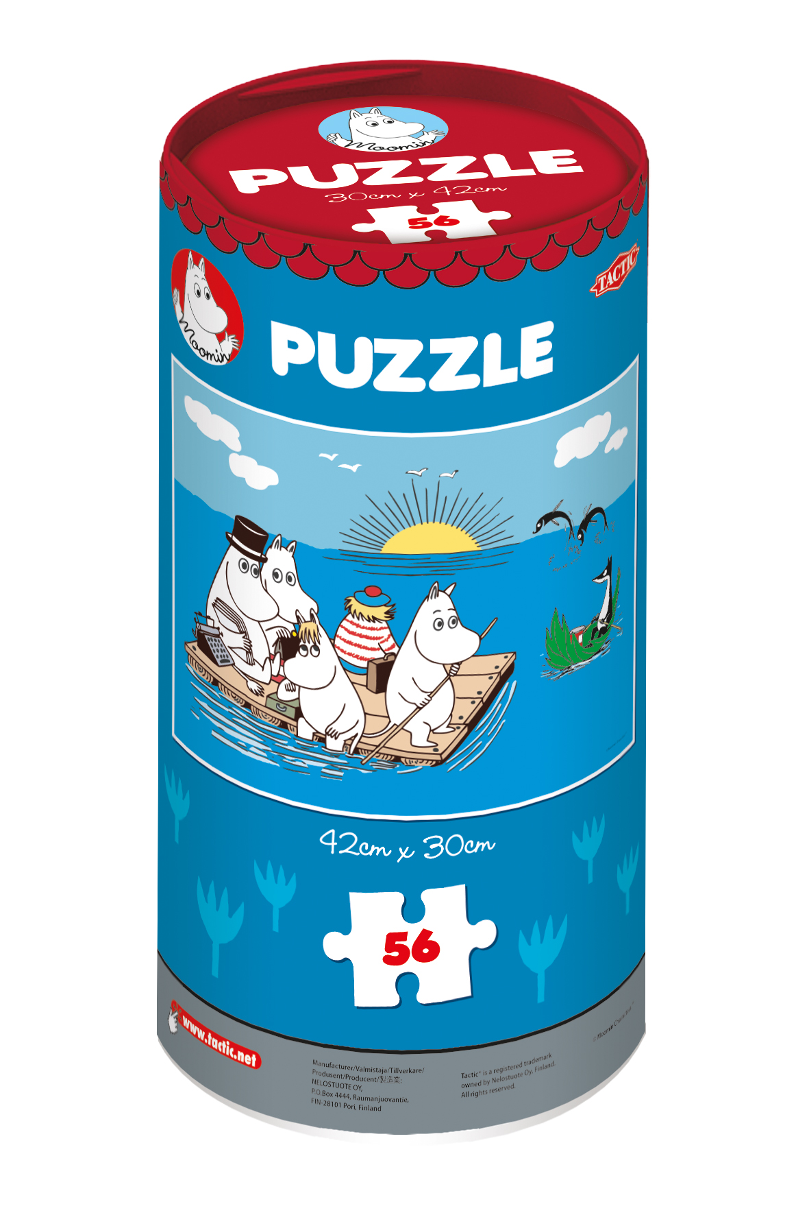 Tactic Moomin puzzle 56 pieces