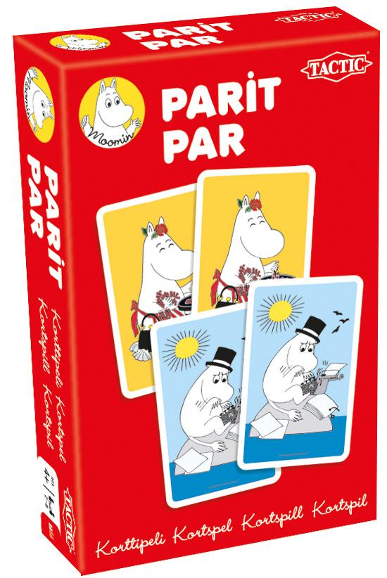 Moomin Pairs Card Game