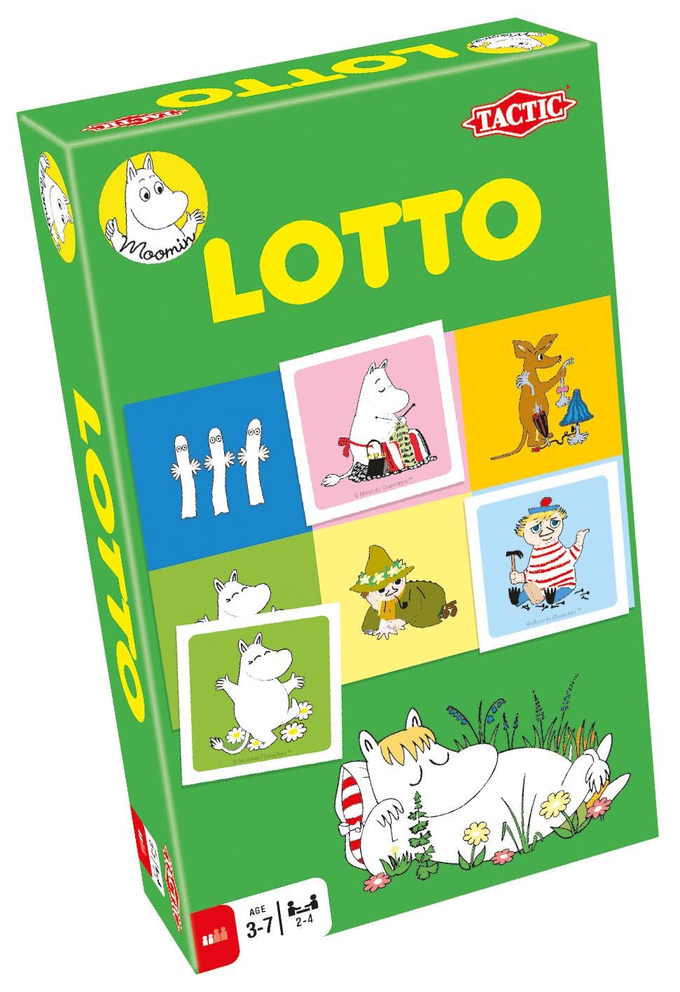 Tactic Travel Moomin Lotto