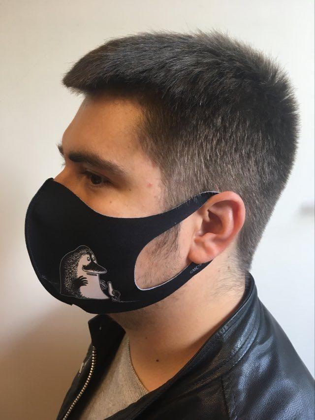 Aurora Decorari 417FM The Groke L Face Mask Microfiber