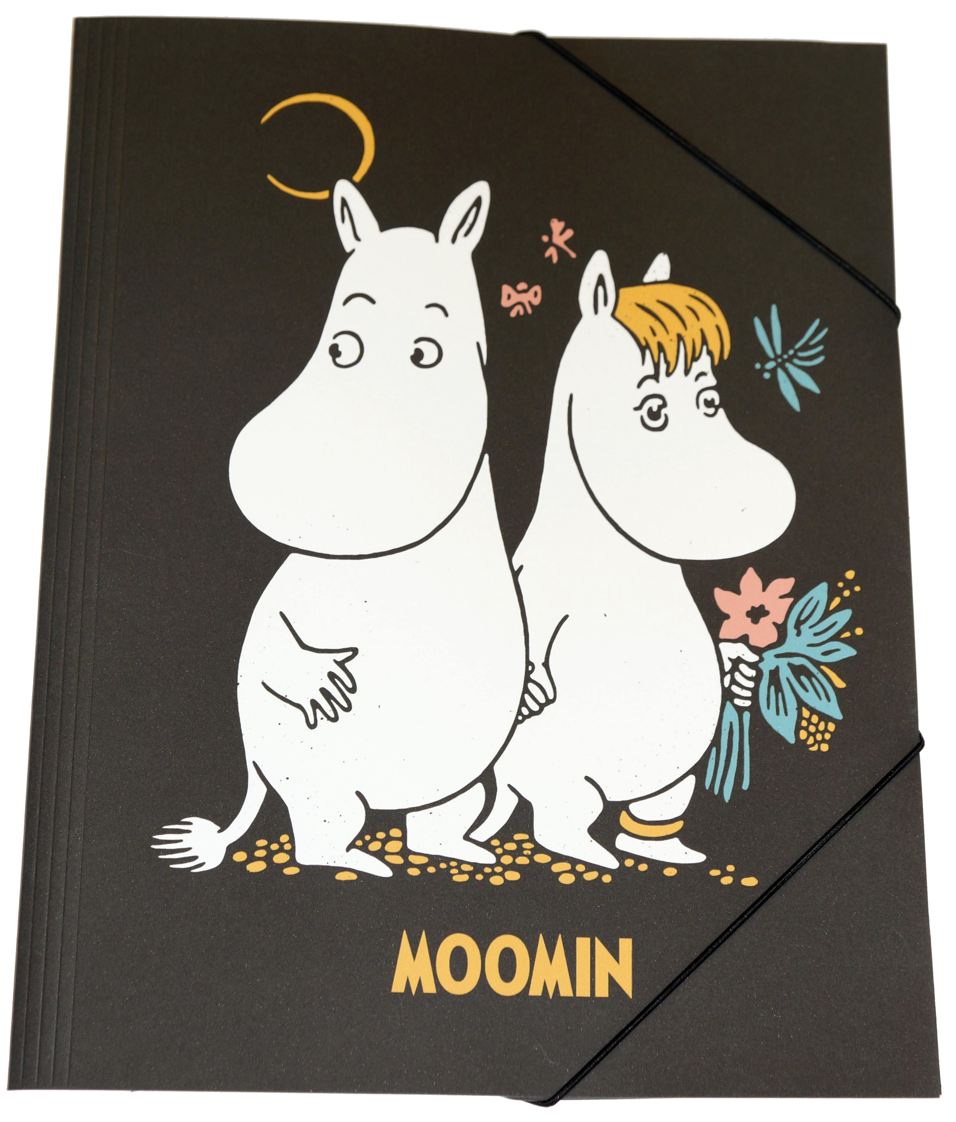 Anglo-Nordic Moomin Elastic band folder A4 SoftT