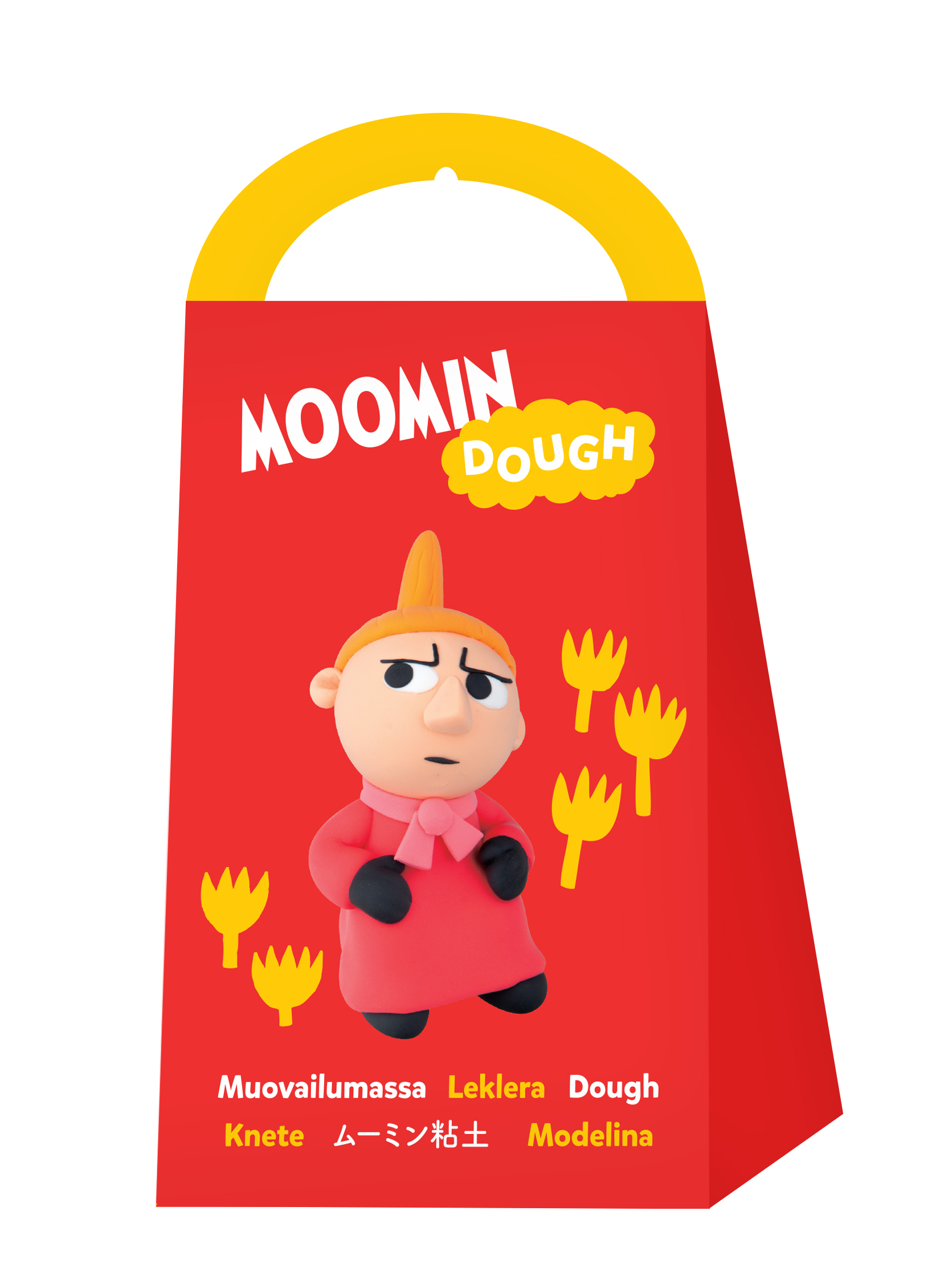 Anglo-Nordic Moomin dough Little My