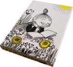 Anglo-Nordic Moomin bookbound notebook Mymble reading